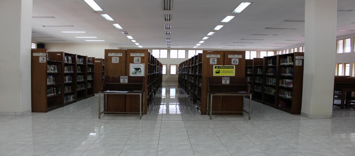 Ruang Baca dan Koleksi Lantai 3