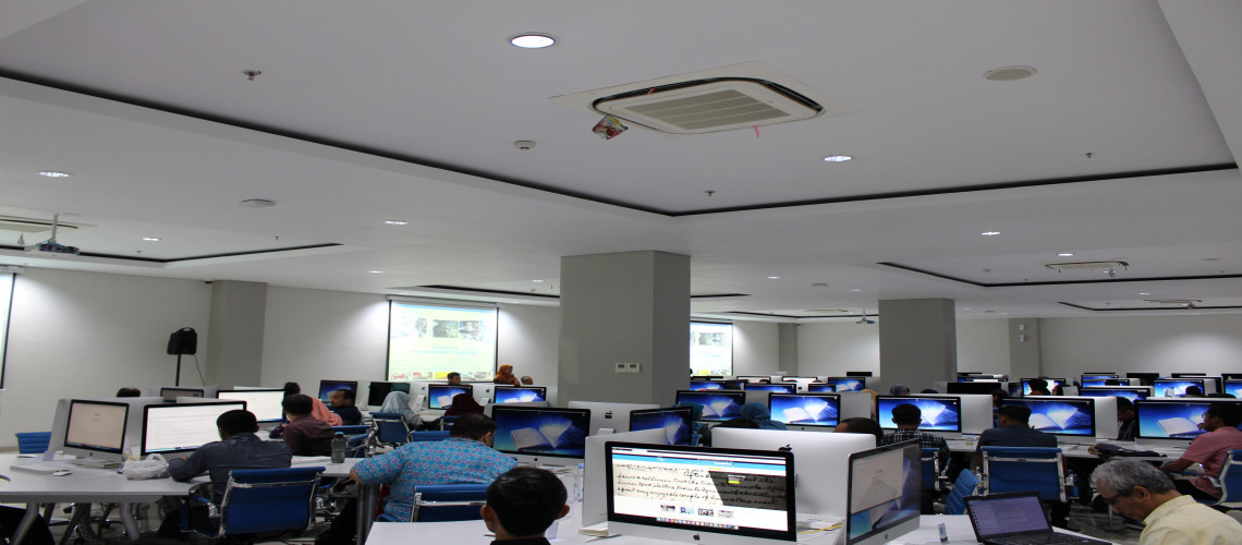 Ruang Komputer Lantai Basement